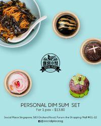 Personal Dimsum Set
