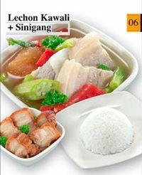 Pork Sinigang & Lechon Kawali Meal