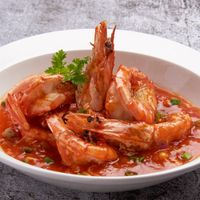 Prawns in Chilli Sauce 南洋风味虾