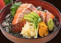 Salmon Avocado Don