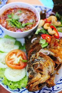 Seabass with Thai Chilli Sauce