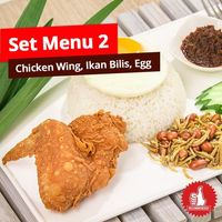 Set Menu 2 (Chicken Wing Set)