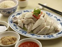 招牌海南鸡 (有机) Signature Hainanese Chicken (Organic)