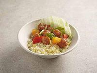 咕噜肉蛋炒饭 Sweet & Sour Pork with Egg Fried Rice