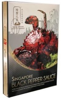 Vacuum Packed Black PepperSauces真空包装黑胡椒酱料