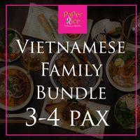 Vietnamese Family Bundle (for 3 to 4)