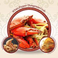 White Pepper Dungeness Crab Set 白胡椒珍宝蟹套餐