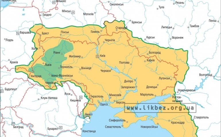 Путін в статті заявив, що не визнає наявних кордонів України і її суверенітету