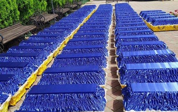 «Синя ріка трун»: сьогодні ще 78 закатованих «асвабадітєлямі» з НКВД душ спочили з миром