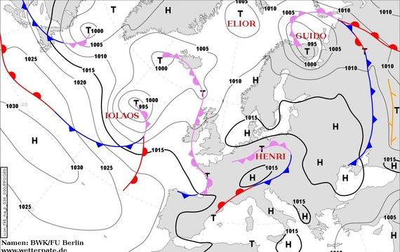 У середу до України підсунеться ближче циклон