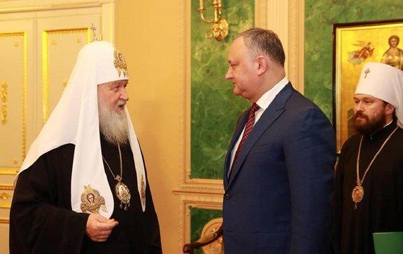 РПЦ в Молдові засвітила свої погони