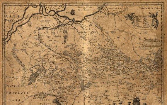 Карти роських земель пізнього Середньовіччя: Волинь—Україна XVI-XVII ст.