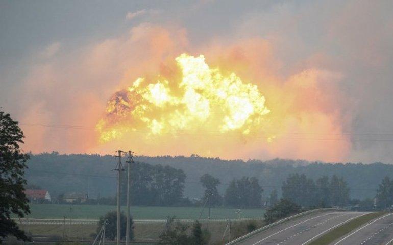 Bellingcat: склади боєприпасів в Чехії, Болгарії та Україні могла підірвати одна й та ж група ГРУ РФ
