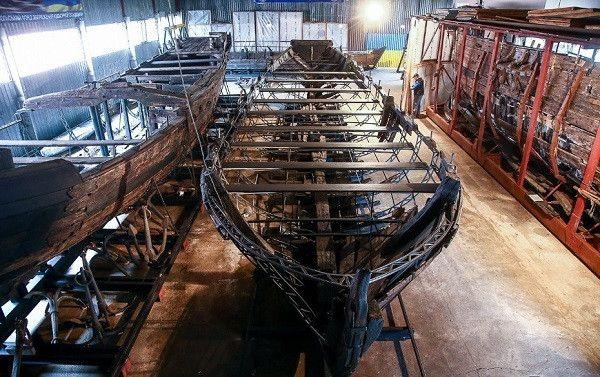 Майстерня та музей козацьких човнів на Хортиці