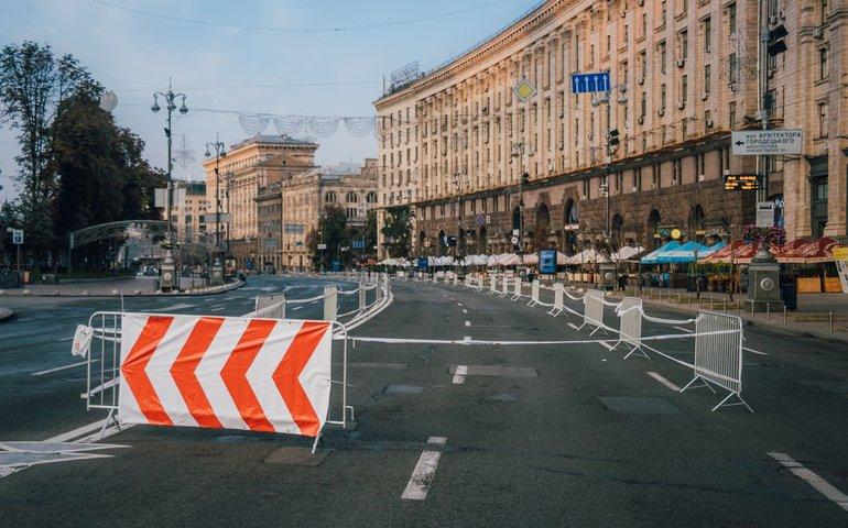 У Києві перекриють центр у зв'язку із проведенням параду військ до Дня Незалежності