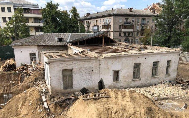У Києві знесли старовинну садибу Барбана