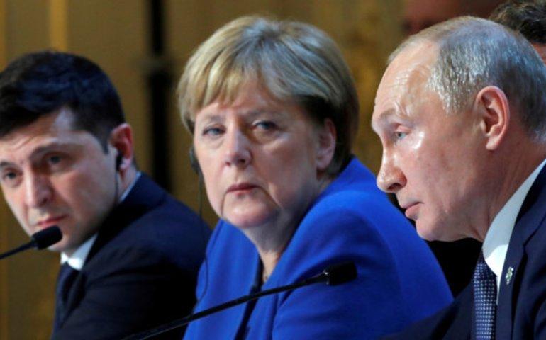 Переговори завершилися: головні заяви Ангели Меркель та Володимира Путіна