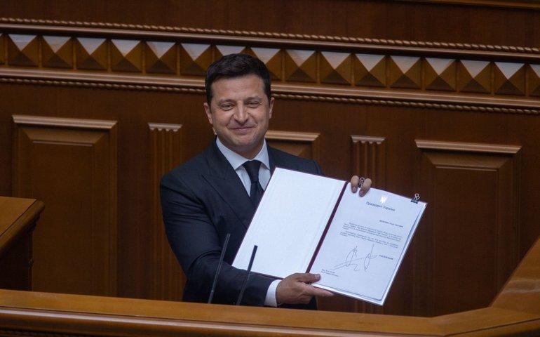 Володимир Зеленський ввів у дію санкції РНБО
