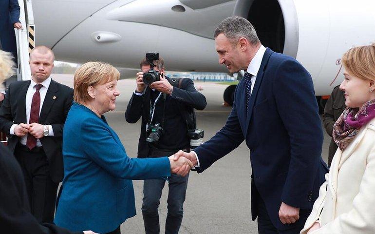 Віталія Кличка не пустили зустрічати Ангелу Меркель в аеропорту «Бориспіль»