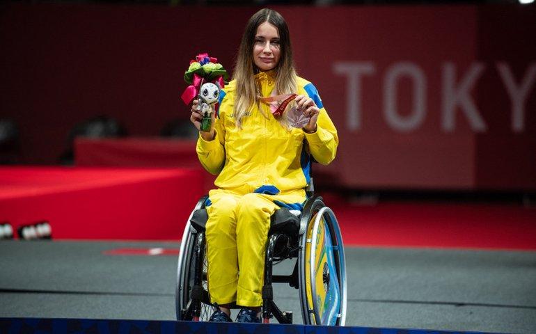 Токіо: українці здобули ще три срібла у плаванні та фехтуванні на візках
