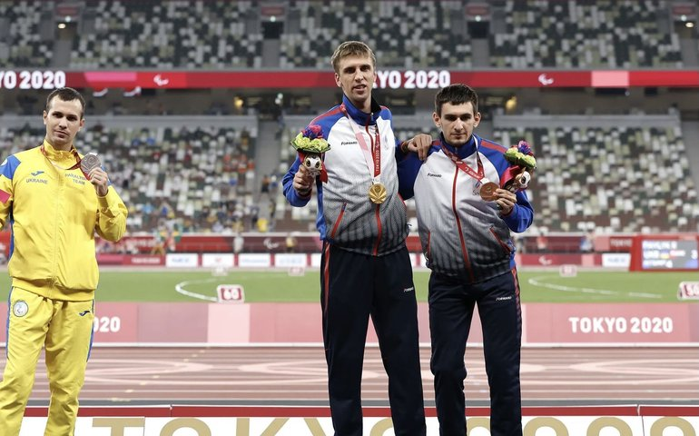 Український легкоатлет відмовився від фото з росіянами на Паралімпіаді