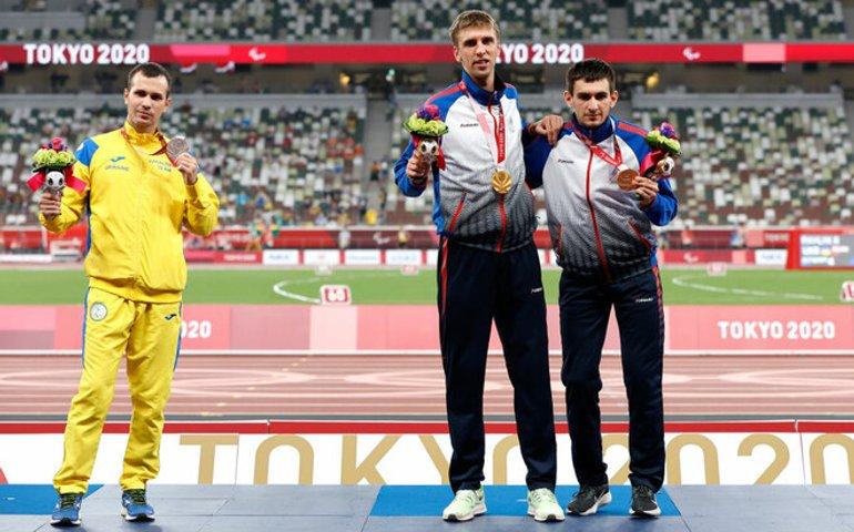 Бігун Цвєтов вдруге відмовився фотографуватись з росіянами на церемонії нагородження Паралімпіади