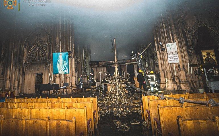 Український бізнес пожертвував понад 20 млн грн на реставрацію костелу св. Миколая після пожежі