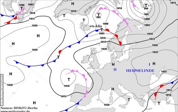 Погода на 8 вересня від Наталки Діденко