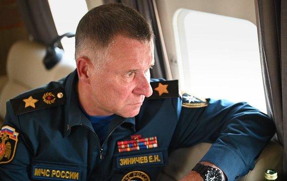 Сьогодні на Росії вбився об камінь Міністр РФ у справах цивільної оборони, генерал армії РФ