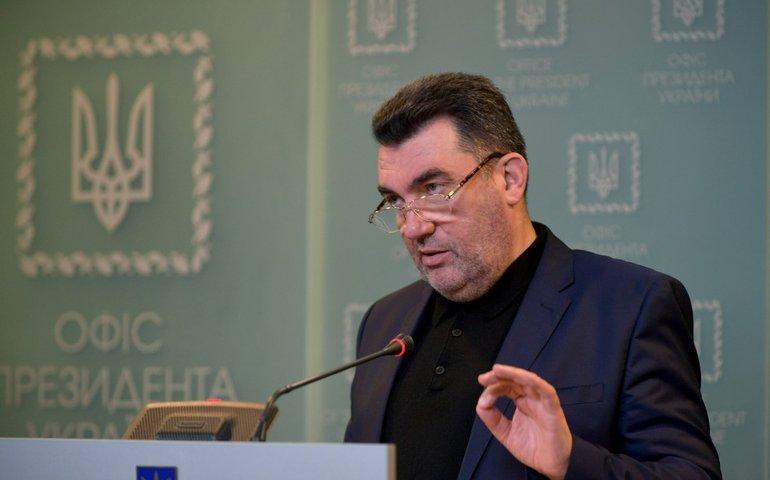 Данілов закликав країни до дій проти Росії у зв'язку з ситуацією в окупованому Криму