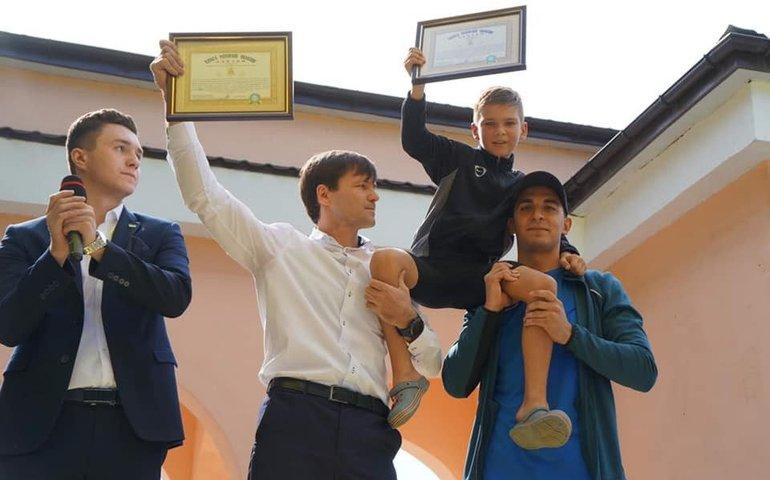 9-річний спортсмен з Мелітополя встановив рекорд України