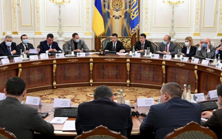 Володимир Зеленський скликає Раду національної безпеки і оборони
