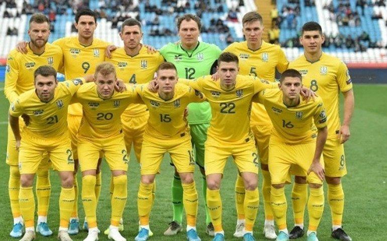Збірна України втратила позиції в рейтингу ФІФА