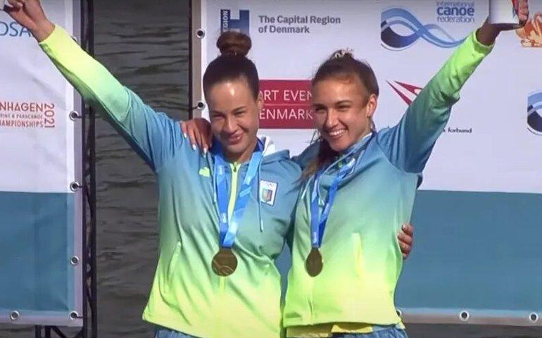 Українки Лузан та Четверікова виграли «золото» чемпіонату світу з веслування на байдарках і каное