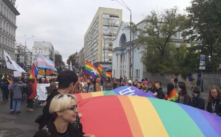 У Києві пройшов ЛГБТ-марш