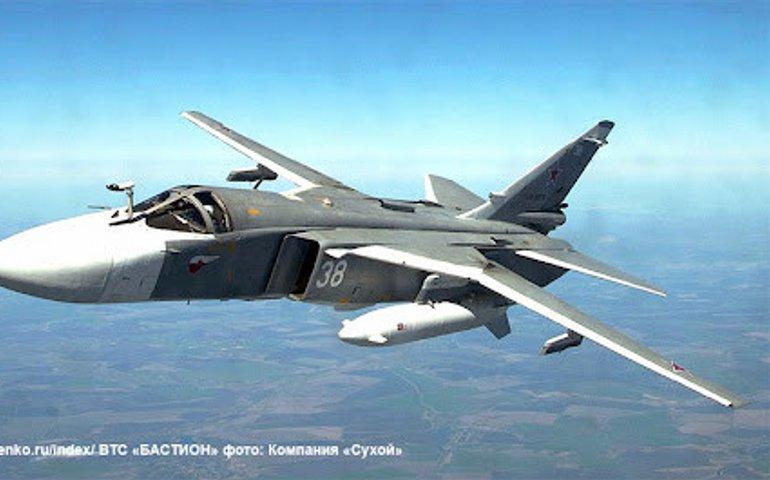 Російські Су-24 та Іл-20 порушили «закрите небо» над акваторією, де проводили стрільби ЗСУ