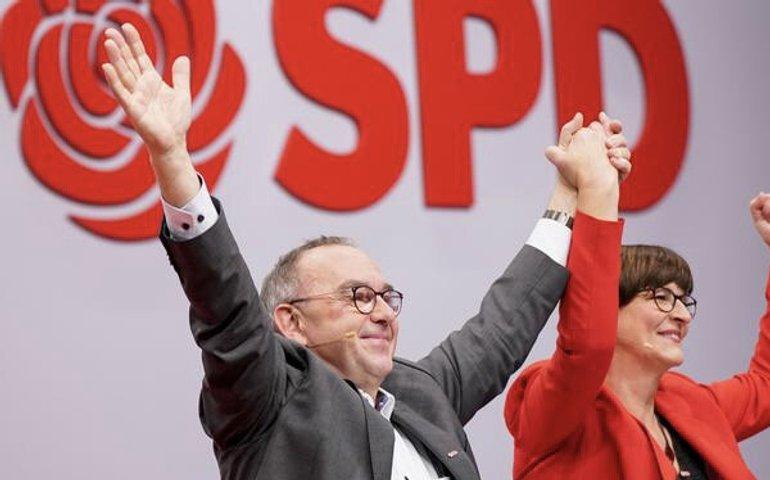 На виборах у Німеччині перемогли соціал-демократи