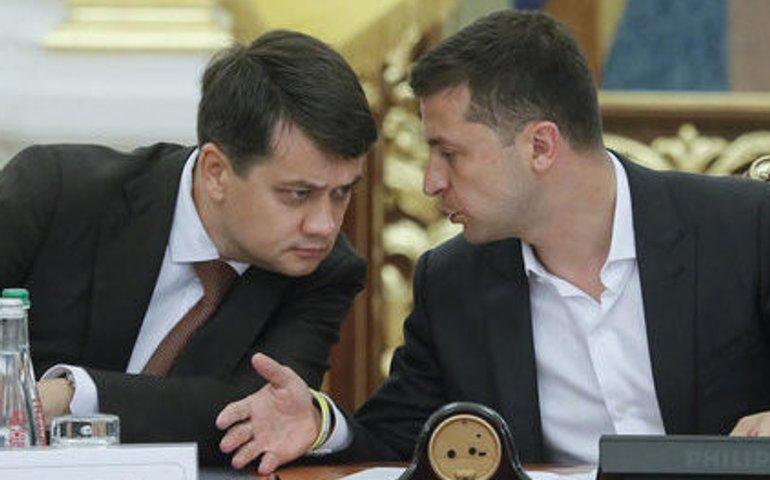 Разумков: а теоретично ж Голова ВР у парламентсько-президентській республіці вищий від президента