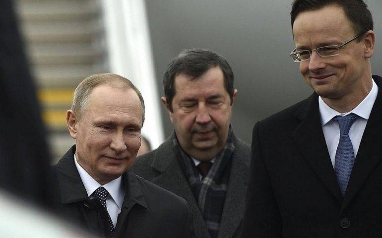 Послушная венгерская шестёрка Владимира Путина приняла участие в энергетическом шантаже Европы