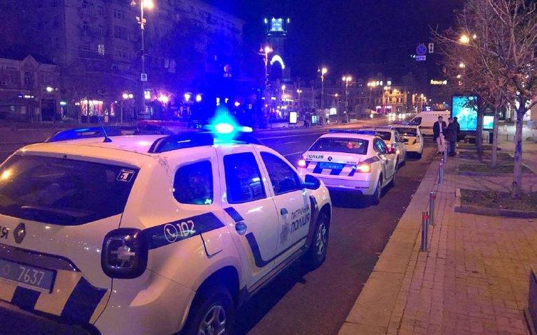 У центрі Києва сталася бійка зі стріляниною