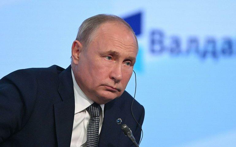 Путін запропонував виключити Талібан зі списку терористичних організацій