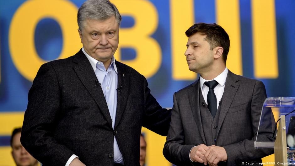 Ukraine Präsidentschaftswahl 2019   Debatte — Poroschenko vs. Selenskyj