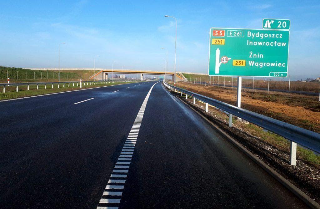Перед Рождеством в Польше открыли несколько новых автотрасс ...