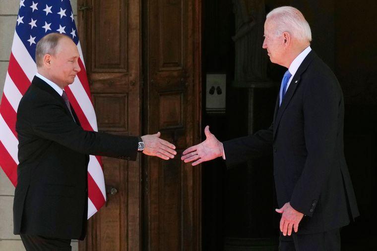 Зустріч Володимира Путіна і Джо Байдена в Женеві, Швейцарія, 16 червня 2021 року