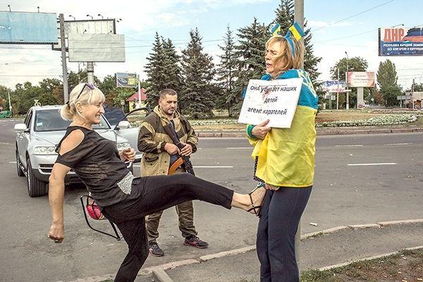 Оккупированный Россией Донецк 2014