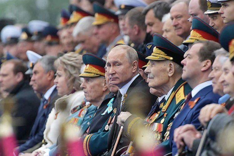 Парад Победы Путин