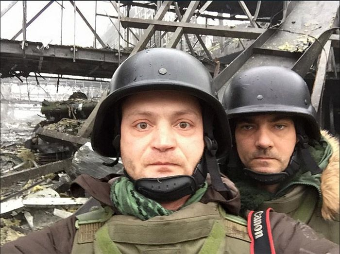 Александр Коц и Дмитрий Стешин