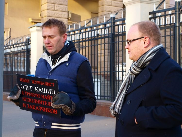 Кашин и Навальный