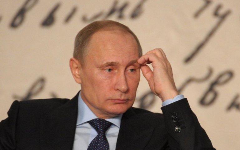 Пощечина Путину