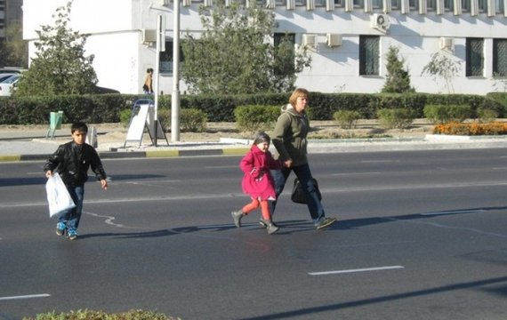 Країна неляканих пішоходів
